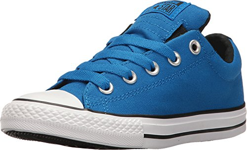 Converse Boys CTAS STREET - SLIP - SOAR CHUCK TAYLOR ALL STAR STREET (Little Kid/Big Kid), Solar/black/white, 1 M US Little Kid (All Star Converse Kids)