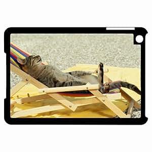 Customized Back Cover Case For iPad Mini Hardshell Case, Black Back Cover Design Cute Personalized Unique Case For iPad Mini