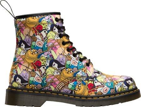 Botas Dr Martens X Adventure Time Toon Castel (Multicolor) blanco