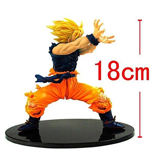 [Dragon Ball Z Action Figures Son Goku Super Saiyan Dragonball Goku Kamehameha 18cm Bola De Dragon dragonball z] (Deadshot Arrow Costume)