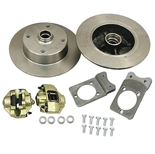 (EMPI 22-2983-0 VW Ball Joint Style Bolt-On Disc Brake Kit, 4/130)