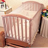edealing(TM) 1PCS Baby Mosquito Cot Insect Wasps Flies Net Baby Toddler Bed Crib Canopy Netting