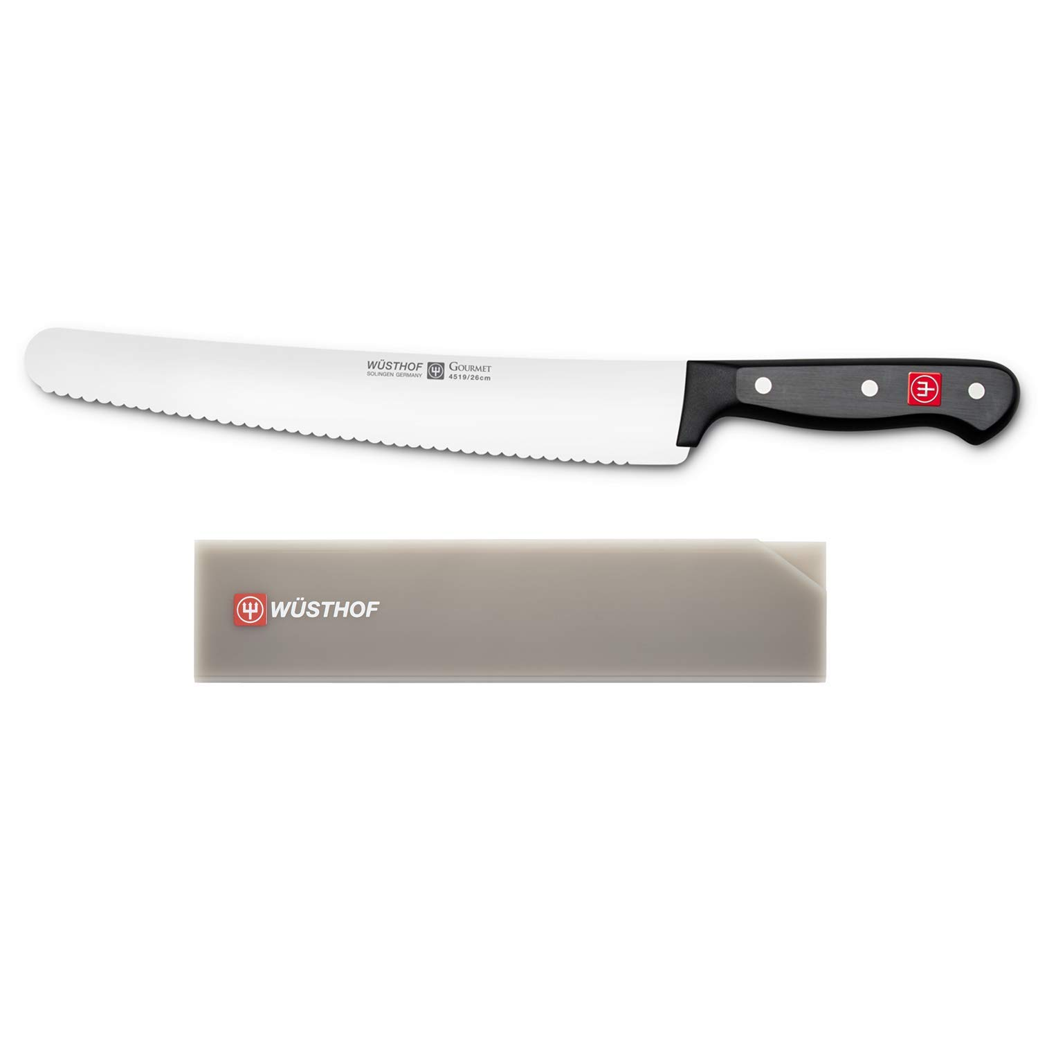 Wusthof Gourmet 10'' Super Slicer with Blade Guard Fits Up To 10'' Cook Knife