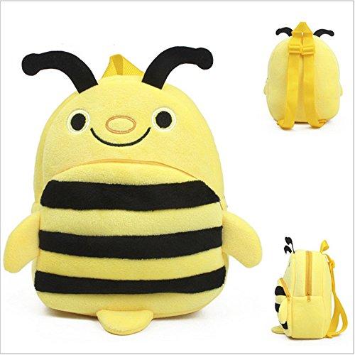 Senmi Children's Cartoon Animal Backpack Kindergarten Bag Toddler Kid's bag Bee