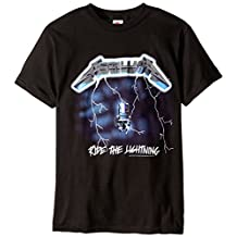 Bravado Men's Metallica Ride The Lightning T Shirt