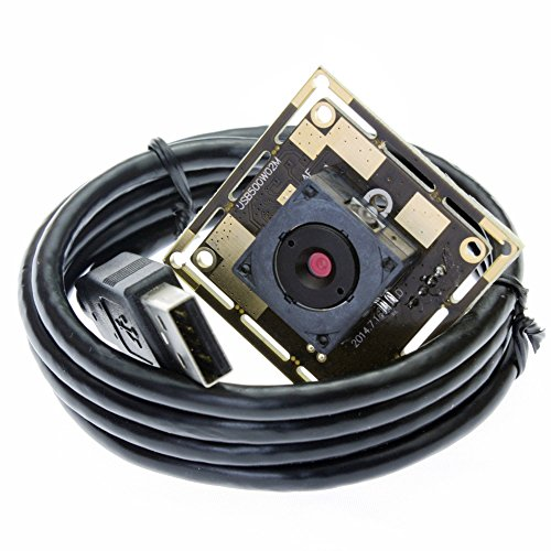 ELP 60degree 5 megapixel camera module with 1Meter USB cable