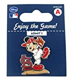MLB St. Louis Cardinals Disney Mickey Wind Up Collectible Trading Pin
