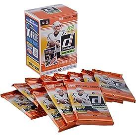 2018 Donruss Football Factory Sealed 11 Pack Fanatics Exclusive Blaster Box – Football Wax Packs