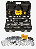 Professional Mechanic Tool Set Chrome with Case (168-Pc). Complete Mechanics Tools Kit w/Box Organizer & Storage has Variety of Automotive Equipment & Accesories for Car Repair. Gift for Men & Women