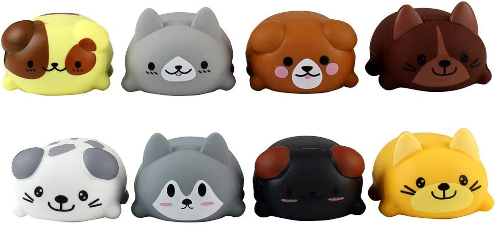 Amazon Achicoo 音楽おもちゃ ミュージカル スケール タッチセンシティブ 猫 犬 電気プレーヤー ピアノ 面白い シリコーン 教育玩具 ギフト 子供 赤ちゃん 8ピース セット 36 赤ちゃん 幼児のおもちゃ おもちゃ
