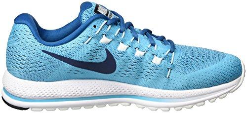 Nike Air Zoom Vomero 12, Herren Laufschuhe, Türkis (Chlorine Blue/binary Blue/industrial Blue/glacier Blue/coastal Blue), 42 EU