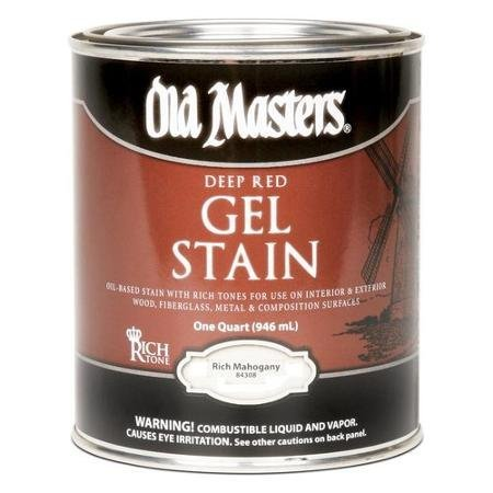 OLD 158800 84304 Gel Stain Rich Mahogany Oil-Based