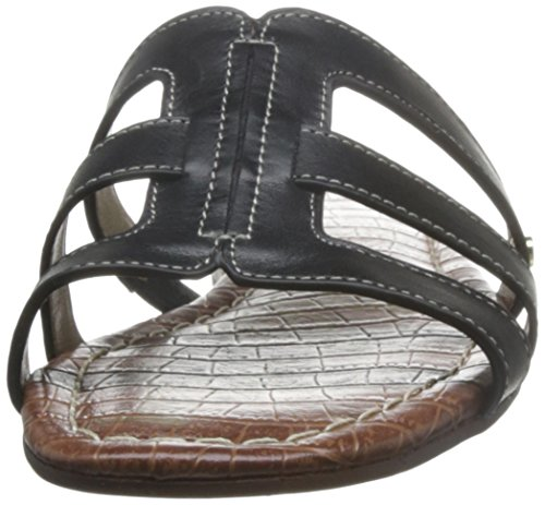 Sam Sandal Berit Edelman Black Leather wxwY87q4