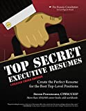 img - for Top Secret Executive Resumes: Updated Third Edition (3) book / textbook / text book