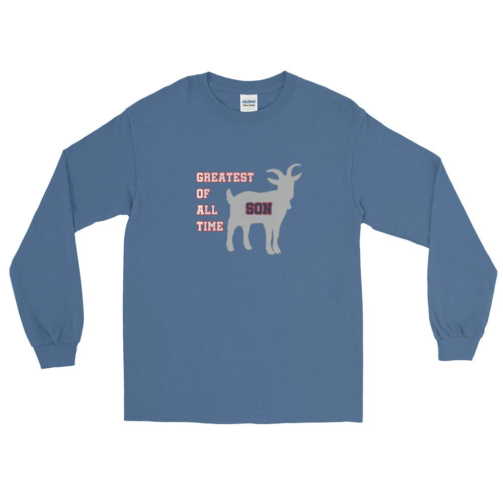 New England GOAT Farm Greatest of All Time Son Long Sleeve T-Shirt