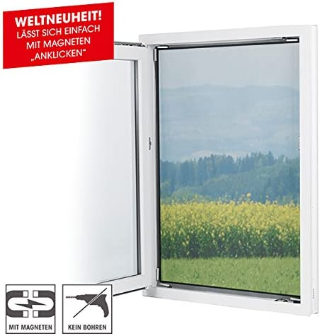 """90 x TV-Our Original 3238 Mosquito Net with magnetic clasp /""""Magic Click/"""""""