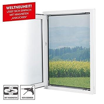 Gut bekannt EASYmaxx Fenster-Moskitonetz mit Magnetbefestigung 150 x 130cm FP79