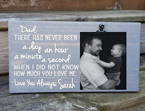 Amazon Dad Letterpoem Picture Frame Gift Gift For Dad Photo