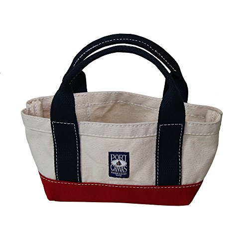 Handmade Heavy Duty Canvas Dinghy Tote Bag by PORT CANVAS – Made in Maine, USA made in New England