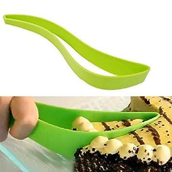 Bluelover Blatt Form Kuchen Schneiden Messer Kuchen Cutter Messer