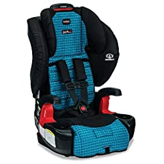 Safety, comfort and convenience make the Pioneer an exceptional Harness-2-Booster Seat. Car seat installation is made simple with easy-on/easy-off LATCH connectors that lock into place with an audible click and are easily released with the pu...