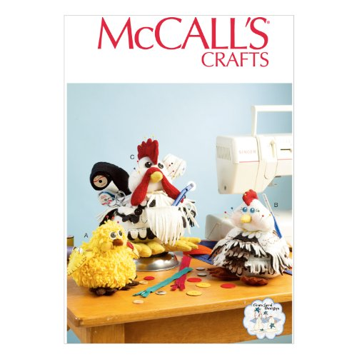 - McCall Pattern Company M6937 Sewing Organizers and Pin Cushions, One Size
