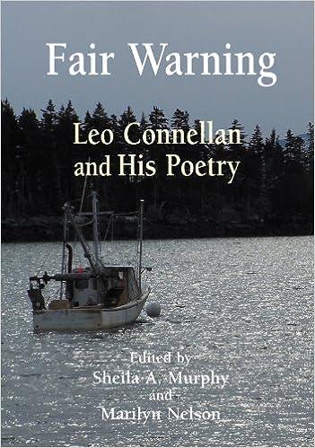 Leo Connellan Fair WarningLeo Connellan and His Poetry Sheila Murphy Marilyn