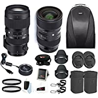 Sigma 18-35 and 50-100 Art lenses with Sigma USB Dock for Canon + bundle