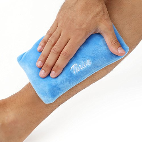 Gel Beads Hot & Cold Compress Pack – 2-Pack – Innovative Reusable gel bead technology provides instant heat or ice pain relief, rehabilitation and therapy. Includes 2 packs + 2 covers by Thrive (Image #4)