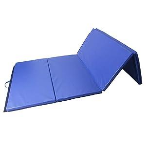 Polar Aurora 4'x10'x2 Thick Folding Gymnastics Exercise Mat Aerobics Stretching Yoga Mats