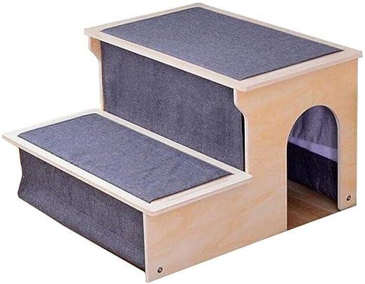 XWF Esponja Escalera para Mascotas Gato/Perro Escaleras De Mascotas, Perritos En Las Escaleras De Cama Lavables De Más Edad Escalera Escaleras Perro Viejo Cojín Pequeño Perro: Amazon.es: Productos para mascotas