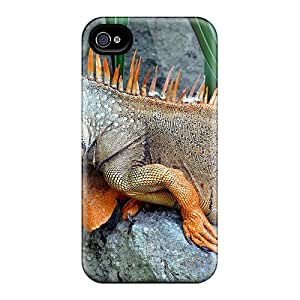 Pretty OrX4113QrDH Iphone 6 Cases Covers/ Iguana On Stone Series High Quality Cases