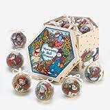 Country Snowman Ornament Box Set