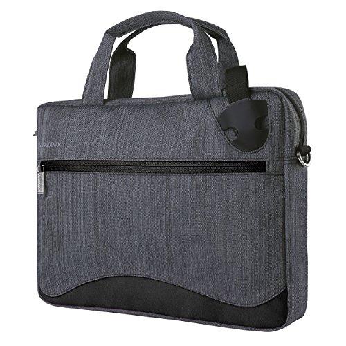 Vangoddy 17 Inch Laptop Bag Anti-theft Nylon Briefcase for Dell Alienware 17 | Inspiron 17 | Precision 17 | Precision Mobile Workstation Series 15.6