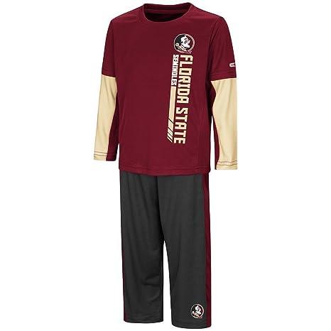e9da2a98514e Colosseum Toddler Florida State Seminoles Long Sleeve Tee Shirt and  Sweatpants Set - 2T