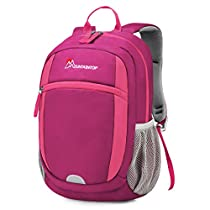 Mountaintop Little Kid & Toddler Backpack for Kindergarten or Pre-School with Chest strap and Drink Bottle Holder M6139