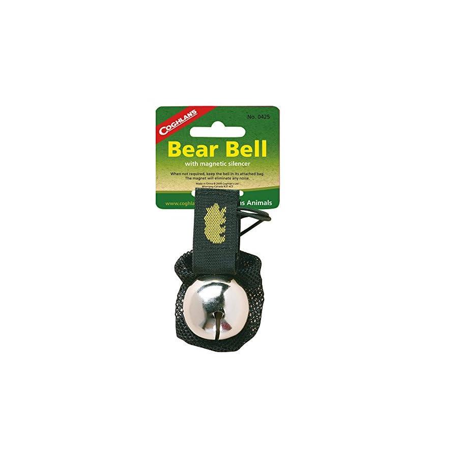 Coghlans 0425 Bear Bell Silver