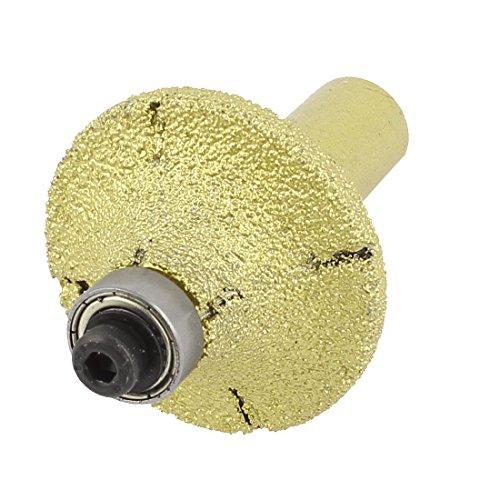 uxcell 38mm Dia Bullnose Diamond Profile Wheel Router Bit for (Granite Profile Wheel)