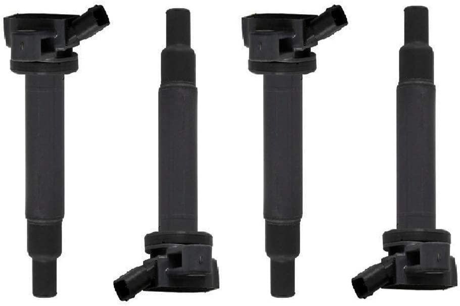 IRONTEK Ignition Coil, Ignition Coil Packs Replacement Coils C1173 UF230 UF493 5C1196 for Lexus/Toyota1998-2009(Pack of 4)