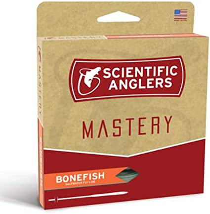 Scientific Anglers Mastery Bonefish Saltwater Fly Line LT BLUE//IVORY NEW