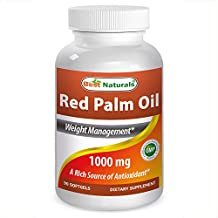 Best Naturals Red Palm Oil 1000mg 90 Softgels