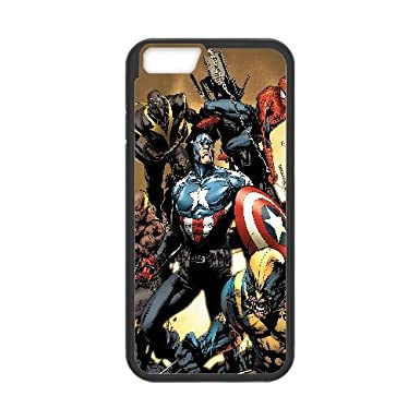 Aa89 Wallpaper Avengers New Illust Iphone 6 4 7 Inch Cell Phone Case