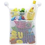 Hot Sale !!! Baby Bath Time Toy Tidy Storage Hanging Bag Mesh Bag Mesh Bathroom Organiser Net