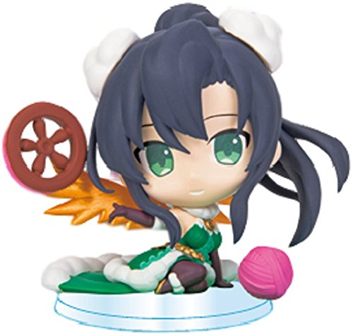 Puzzle & Dragons Verdandi Pugyutto Chibi Figure Collection Vol.8 Mini Pugycolle Character The Norn of Present Thought Spinner and PAD PND (Belldandy Pvc Figure)
