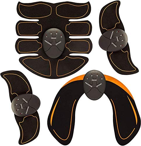 Bon-Su Muscle Toner - Abdominal Toning Belt Fit for Body Arm - Abs Trainer Muscle Toner - Muscle Stimulator - Electrical Muscle Stimulation Abs Stimulator at Home Office Gymnasium or Gym 6
