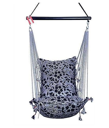 Kkriya Home Decor Fabric Jumbo Hammock Swing (Kingsize)