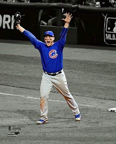 Anthony Rizzo Chicago Cubs World Series Spotlight Photo