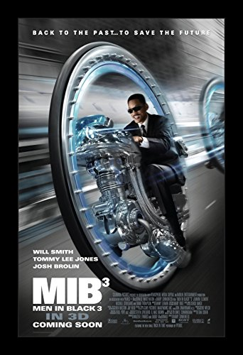 Men in Black 3 - 11x17 Framed Movie Poster by Wallspace