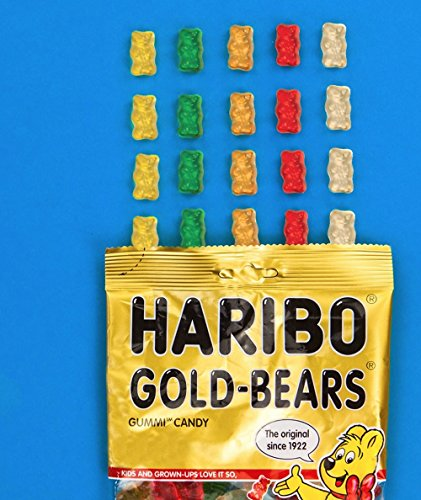 Haribo Goldbears Original Minis, 54-Count Bears in mini bags in 22.8 oz. tub (Pack of 8) by Haribo (Image #3)