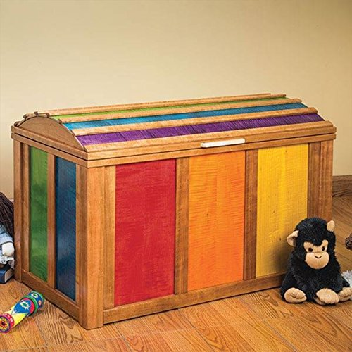 Woodworking Paper Plan for Treasure Chest Toy Chest